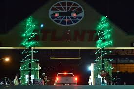 charlotte motor speedway christmas lights 2017 holiday light spectacular brings holiday cheer to ams opens nov 27