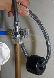delta kitchen faucet water line connections handymanhowto com