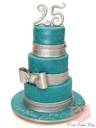 25th wedding anniversary cake celebration cakes