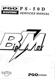pgo big max service manual guider fotos fra munk j