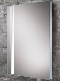amber steam free led back lit bathroom mirror 700 x 500mm