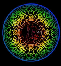 celtic dragon coloring pages image information