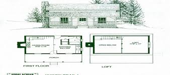 Open Cabin Floor Plans Simple Cabin Plans With Loft Log Cabin With Loft Open Floor Plan