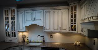 shabby chic distressed kitchen brick nj by design line kitchens