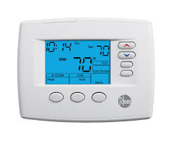 rheem 200 series programmable thermostats series