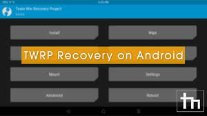 custom recovery android how to install twrp recovery on android devices technastic
