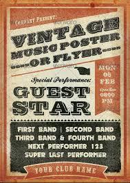 top 10 best vintage retro psd flyer templates