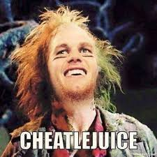 Super Bowl Sunday Meme - tom brady cheatlejuice is it funny or offensive