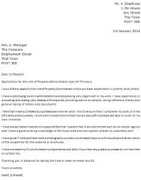 waste collector cover letter