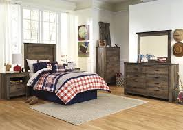 Ashley Furniture Teenage Bedroom Signature Design By Ashley Trinell Loft Bed With Stairs And Drawer