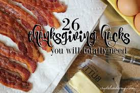 thanksgiving hacks