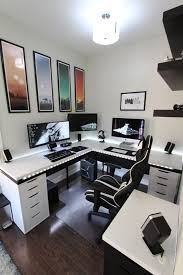 gaming office setup battle station gaming office alienware acer and predator