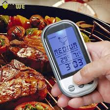 thermom re de cuisine wireless digital bbq thermometer kitchen oven food cooking grill