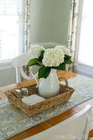 table center pieces bits of home the clean table club pinteres