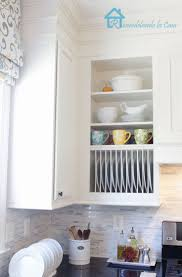 kitchen cabinets inside home decoration ideas diy inside cabinet plate rack