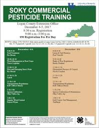 commercial pesticide applicator training warren county agriculture