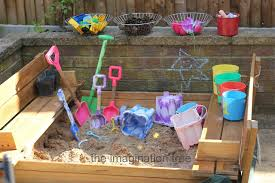 Build A Sandpit In Your Backyard Sandbox Activities That Kids Dig Hands On As We Grow