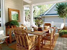 Potted Plants For Patio Ideas To Decorate Patio With Potted Plants On The Wooden Table