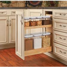 kitchen cabinet storage containers pull out storage container base cabinet organizer with