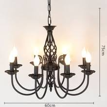 Vintage Wrought Iron Chandeliers Popular Wrought Iron Candle Chandelier Buy Cheap Wrought Iron