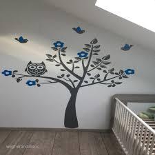 chambre bébé arbre inspirant stickers arbre hibou chambre bébé wegherandassoc
