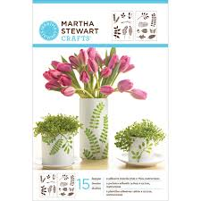martha stewart crafts leaves adhesive stencils 32270 plaid