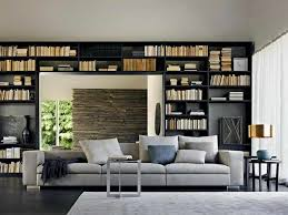 Home Interior Book Architecture Reading Room Of Modular Home Design With