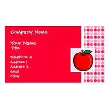 collections of apple business cards page6