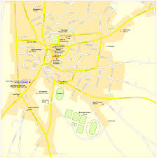 Map Of Cyprus Map Of Protaras Protaras Beaches Map Street Map Of Paralimni