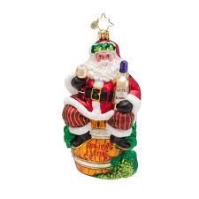 radko ornaments 2015 radko white wine santa ornament spirit of