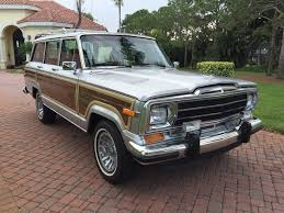 sold test drive 1991 jeep grand wagoneer for sale by autohaus