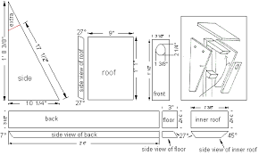 bluebird nest box plans