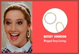 earrings for school tisdale betsey johnson wrapped hoop earrings from high