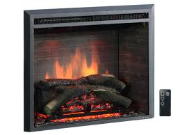 electric fireplace log inserts lowes home depot canada with blower