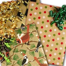 camo christmas wrapping paper kraft wrapping paper