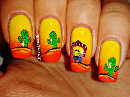 mexican nails the best images bestartnails com