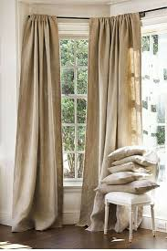Linen Burlap Curtains Best 25 Burlap Window Treatments Ideas On Pinterest Burlap