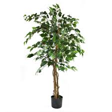 artificial tree artificial ficus tree green 4ft indoor artificial tree by olore