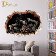 3 d halloween wallpaper online get cheap wall wallpaper horror aliexpress com alibaba group