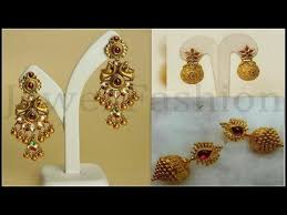 simple gold earrings gold earrings designs simple gold ear rings