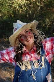 Womens Scarecrow Halloween Costume Homemade Scarecrow Costume Scarecrow Halloween Costumes