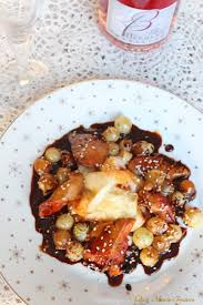 cuisiner le foie de lotte foie de lotte teriyaki aux raisins de moissac chagne day une