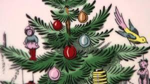 spode christmas tree ribbon serving platter on qvc youtube