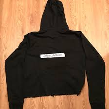 vlone vlone black reversible hoodie sz m rare legit new wiz tags