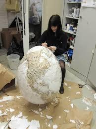large paper mache egg the of my egg rhea thiersteinrhea thierstein