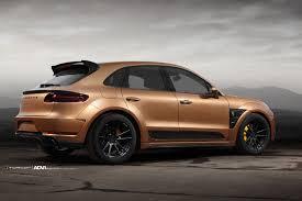 Porsche Macan X6 - top car porsche macan widebody adv5 2 m v2 sl wheels matte