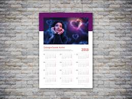 best custom wall calendar template yearly one page calendar