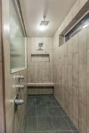 12x24 Tile In A Small Bathroom 9 U0027 Long Shower 6x24 Vertical Tile Walls 12x24 Shower Pan With