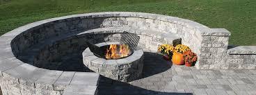 Granite Fire Pit by Serafina Fire Pit Kit Superior Stone U0026 Fireplace