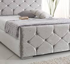 Velvet Sleigh Bed Best 25 Crushed Velvet Double Bed Ideas On Pinterest Velvet Bed